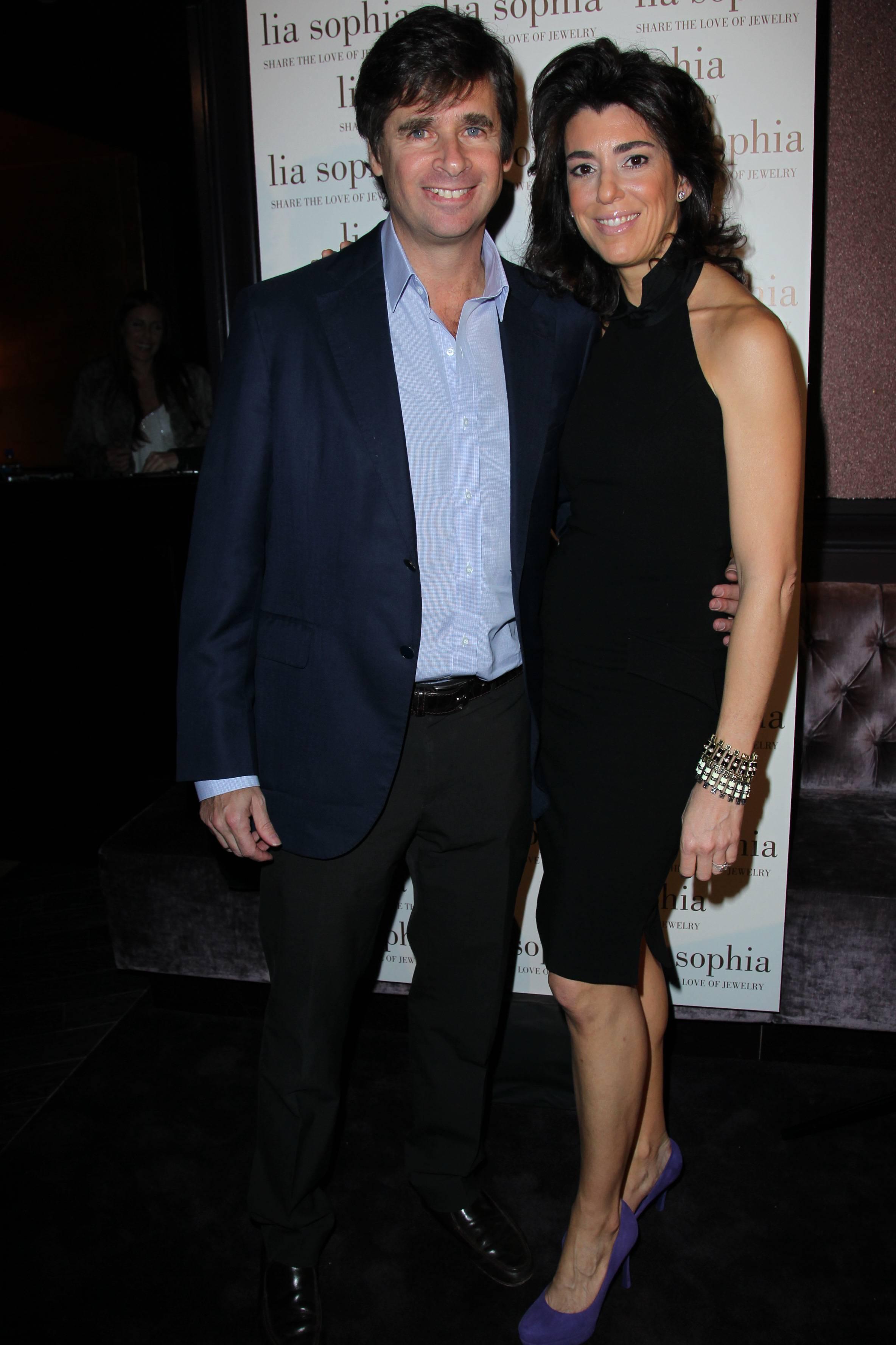 Tory and Elena Kiam