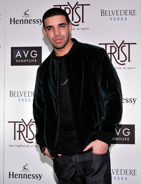Tryst - Drake - red carpet