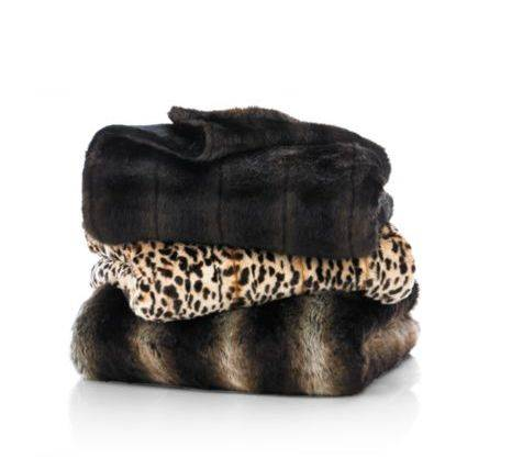 We loved these ones from Nordstrom at Paseo Nuevo, in mink, leopard and chinchilla ($195).