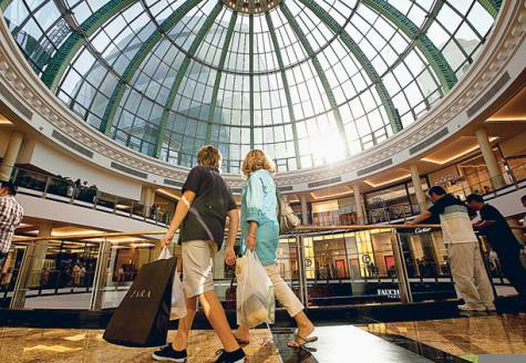 Mall of Emirates Fashion Dome Courtesy of Gulf News