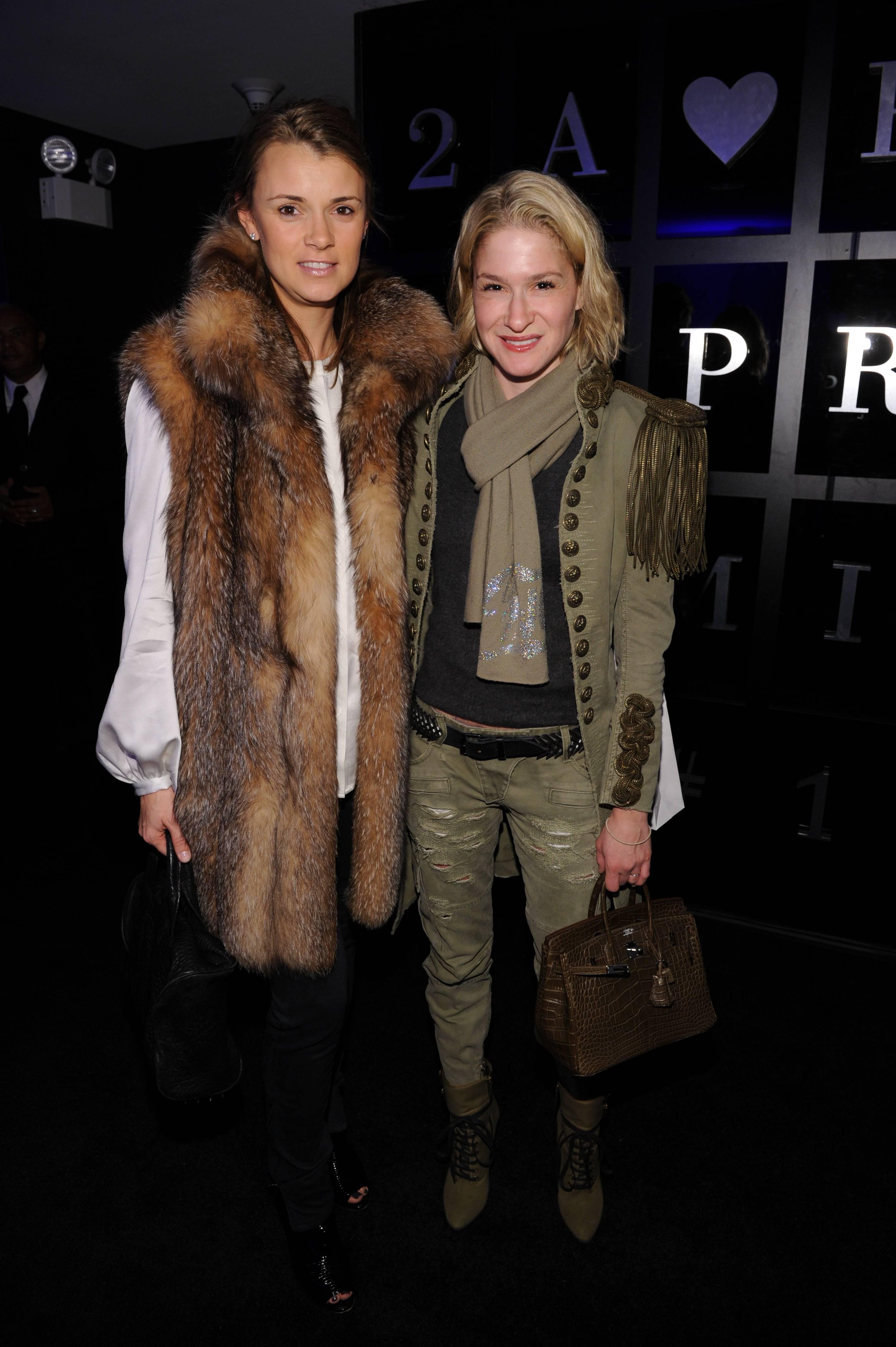 Allison Ashton and Julie Macklowe PradaPrivate