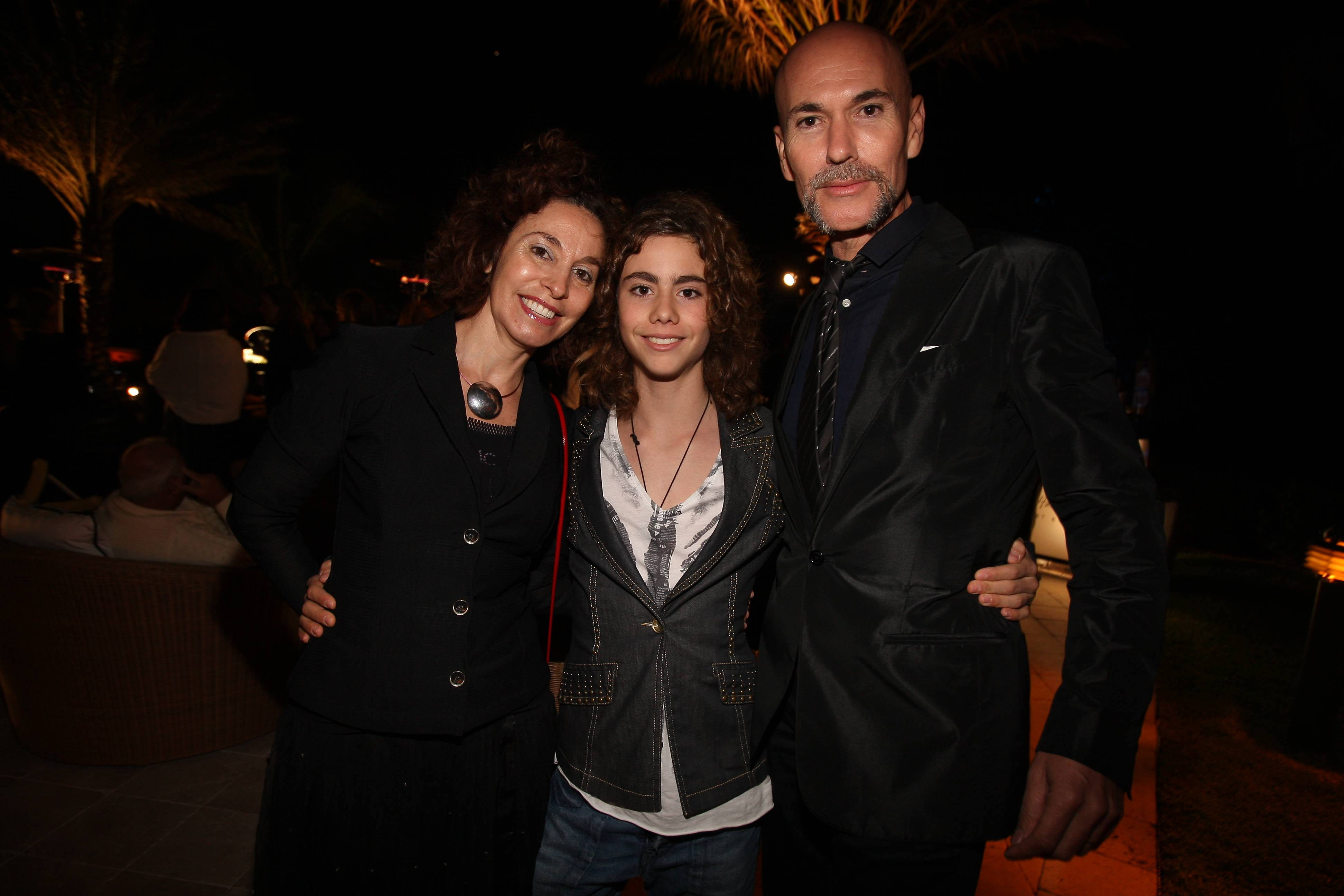 Angela Lergo, Orathia Garcia, Salustiano