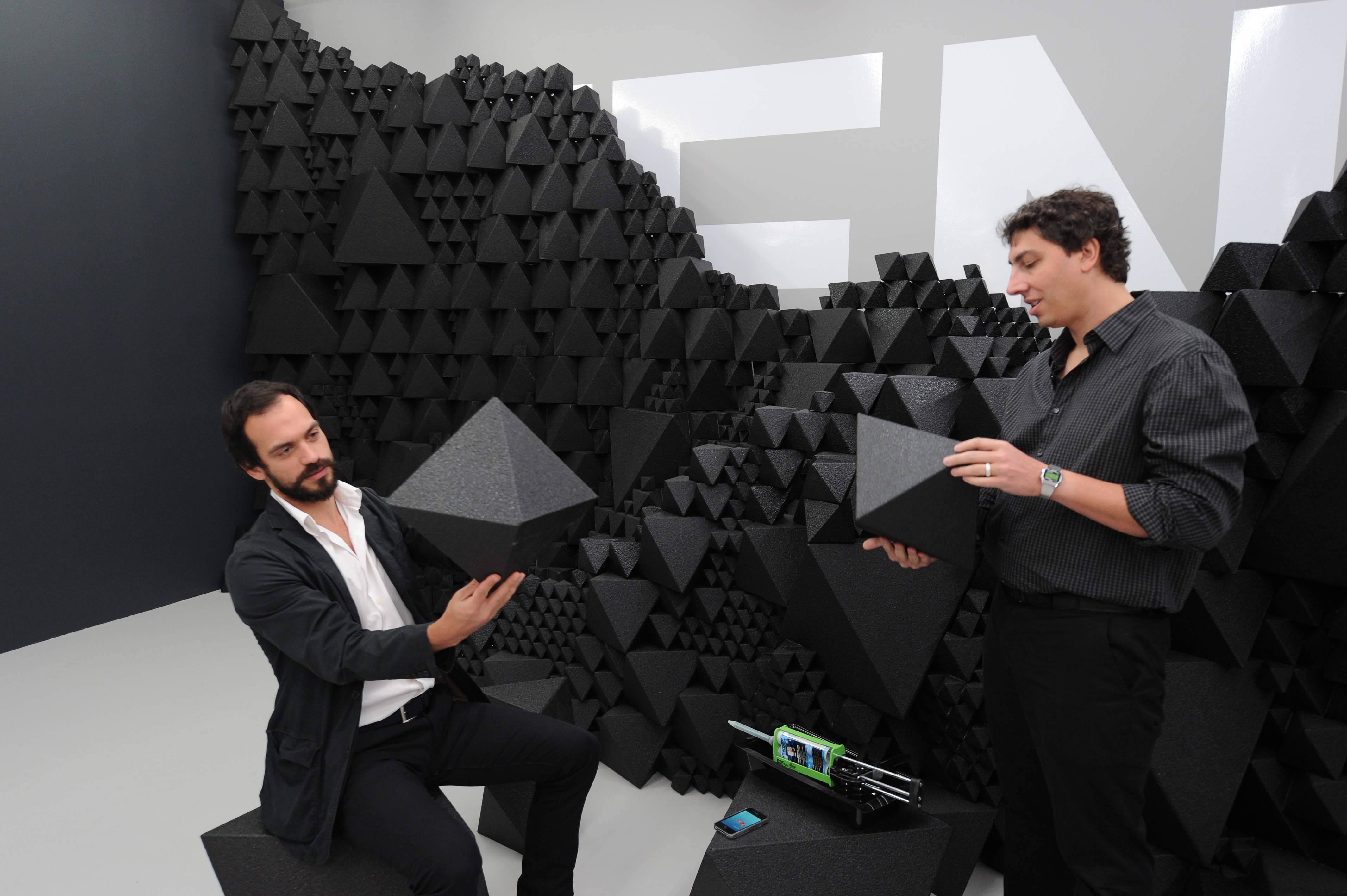 Benjamin Aranda and Chris Lasch creating a Modern Primitivei in the FENDI Aranda Lasch space at Design Miami_December 2010_1[2]