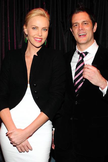 Charlize & Johnny Knoxville