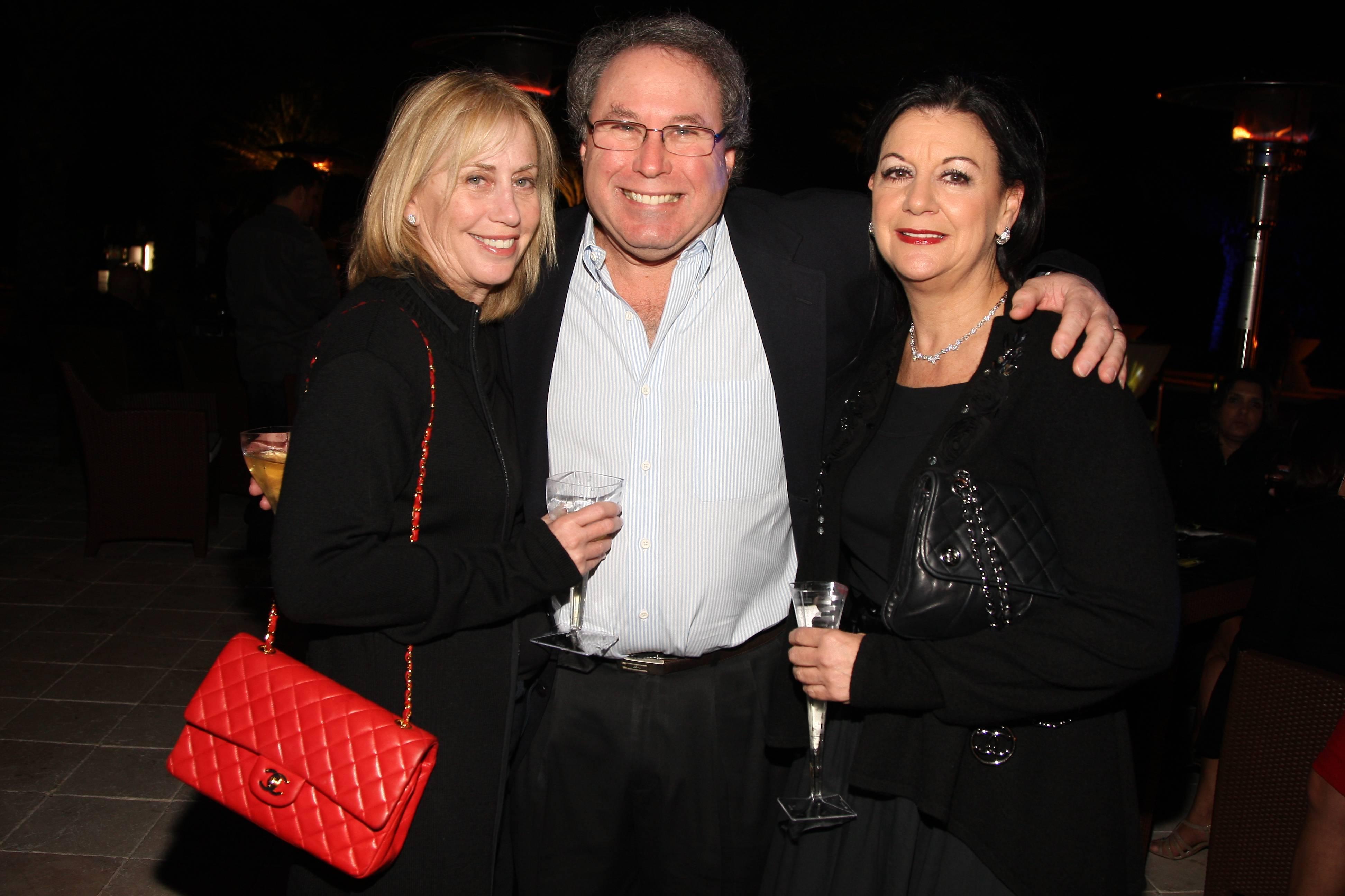 Cindy and Steven Dratch, Debbie Sroka