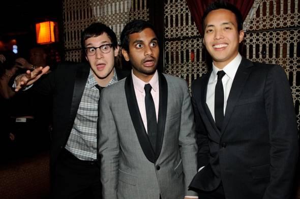Dan Levy, Aziz Ansari, Alan Yang