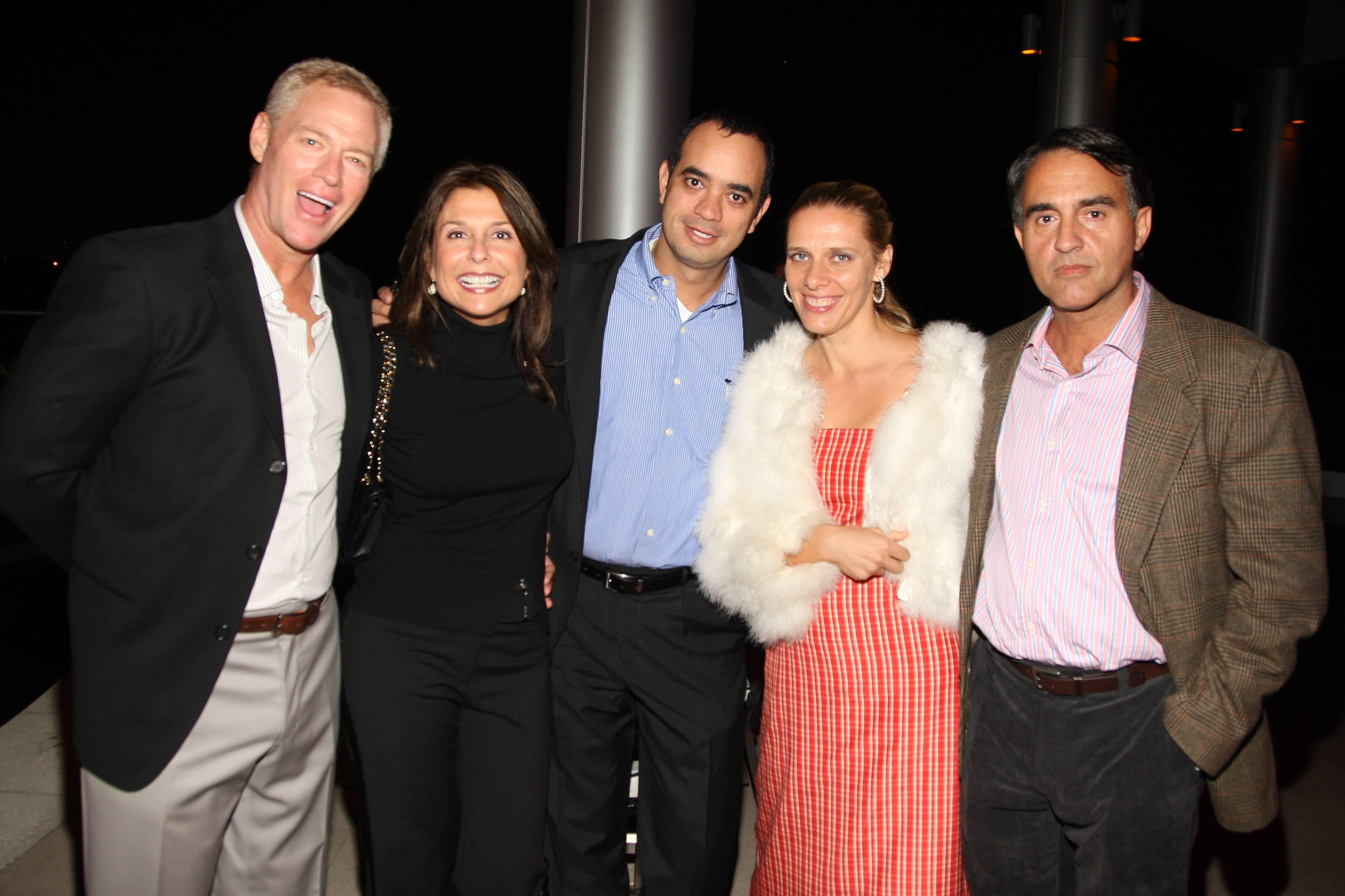 David Himmel, Ingrid Grad, Robert Allegria, Elena and Javier Valle (1)