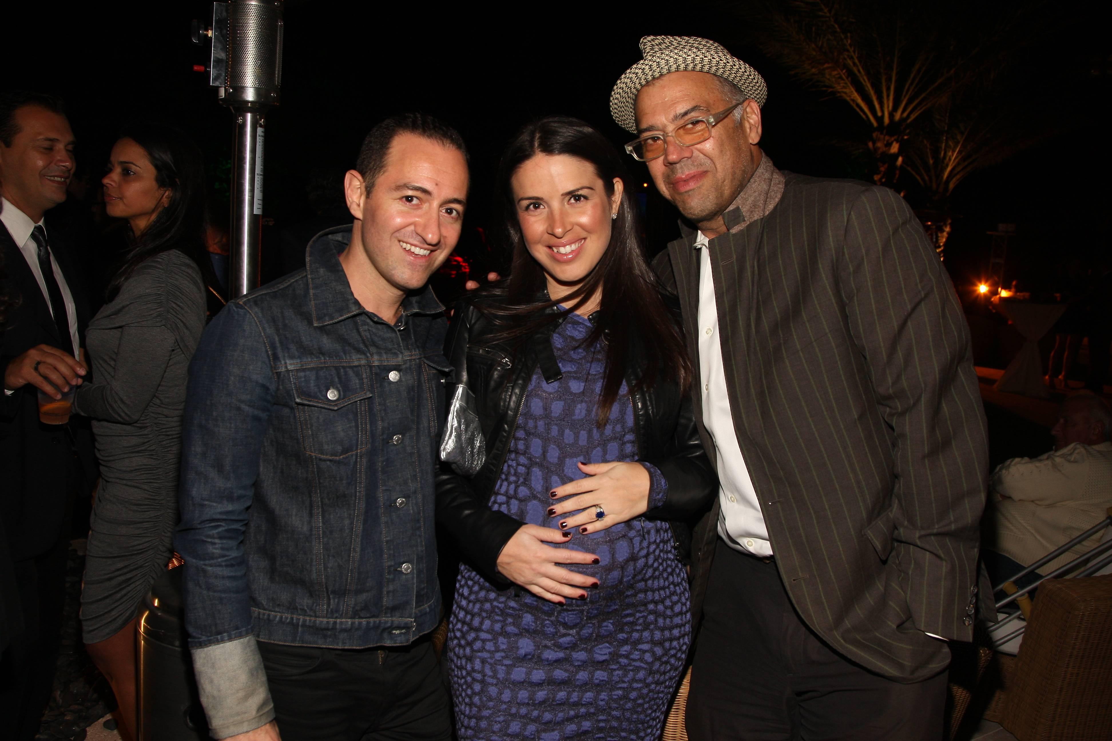 Diego Binetti, Gina Arcic Beekman, Mario Agossi (2)