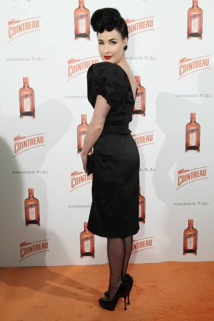 Dita Vont Teese Launches My Prvate Cointreau Coffret Red Carpet 2