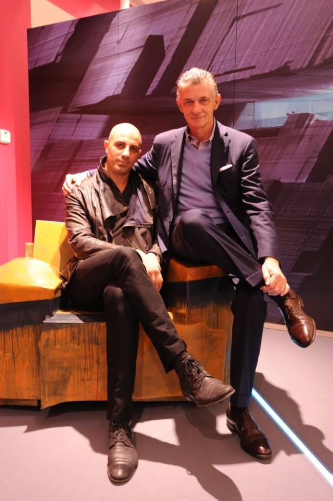 Dror Benshetrit and Giulio Cappellini - TRON Armchair