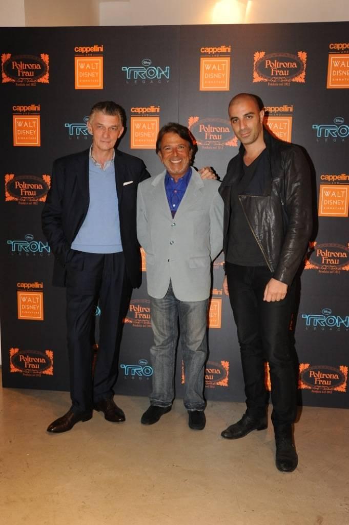 Giulio Cappellini, Giampiero DiPersia, Dror Benshetrit
