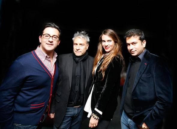 Isaac Franco, Ken Kaufman, Jilian Sanz, Kamal Hotchandani