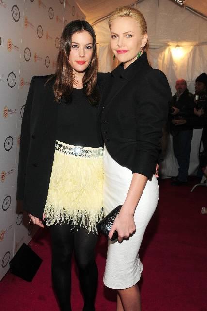 Liv Tyler & Charlize