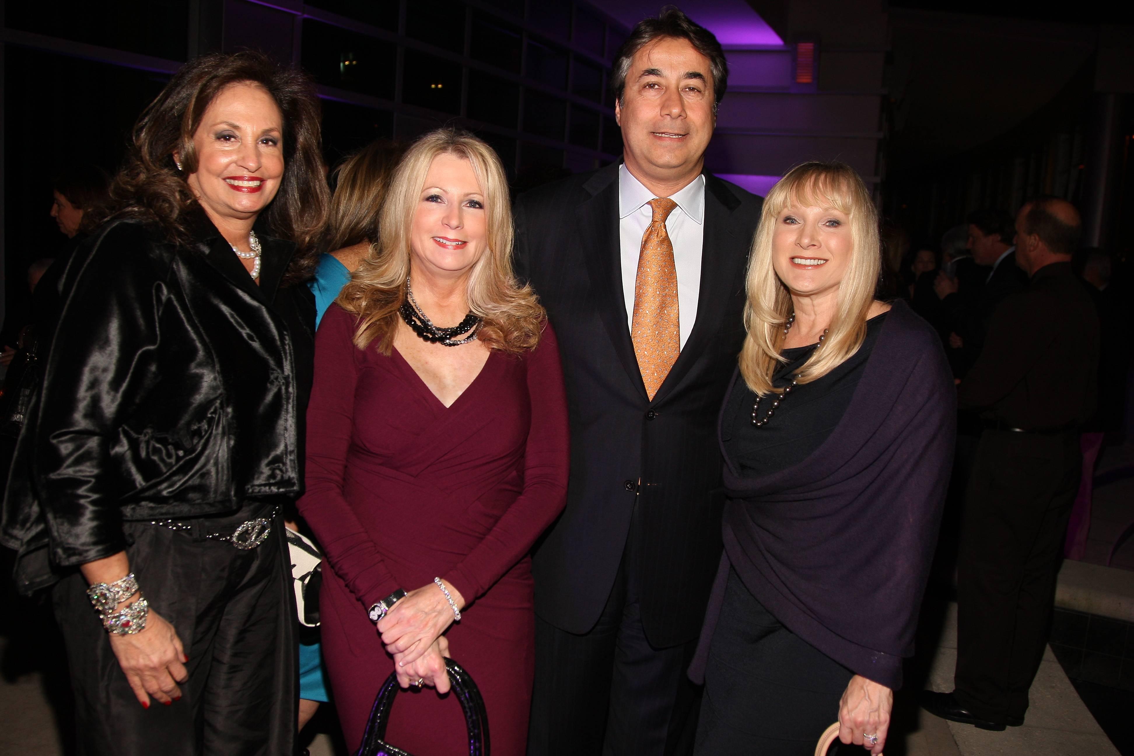 Margeri Coven, Deborah Slack, Max and Sandra Scanavinno