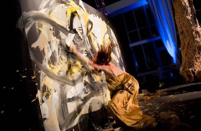 Masik Art Performance at Marquis Residences - Performance 10