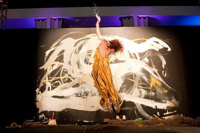 Masik Art Performance at Marquis Residences - Performance 3