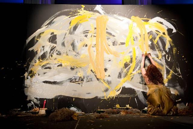 Masik Art Performance at Marquis Residences - Performance 7