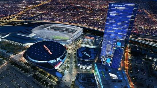 Gensler NFL stadium in L.A.