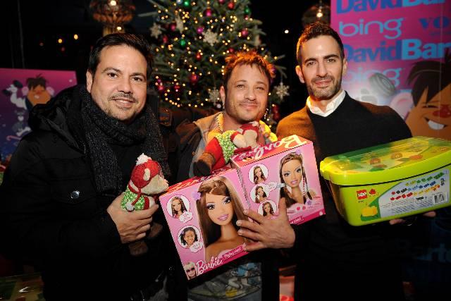 Narciso Rodriguez, David Barton, Marc Jacobs