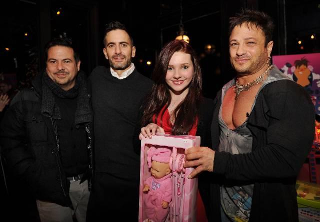 Narciso Rodriguez, Marc Jacobs, Abigail Breslin, David Barton