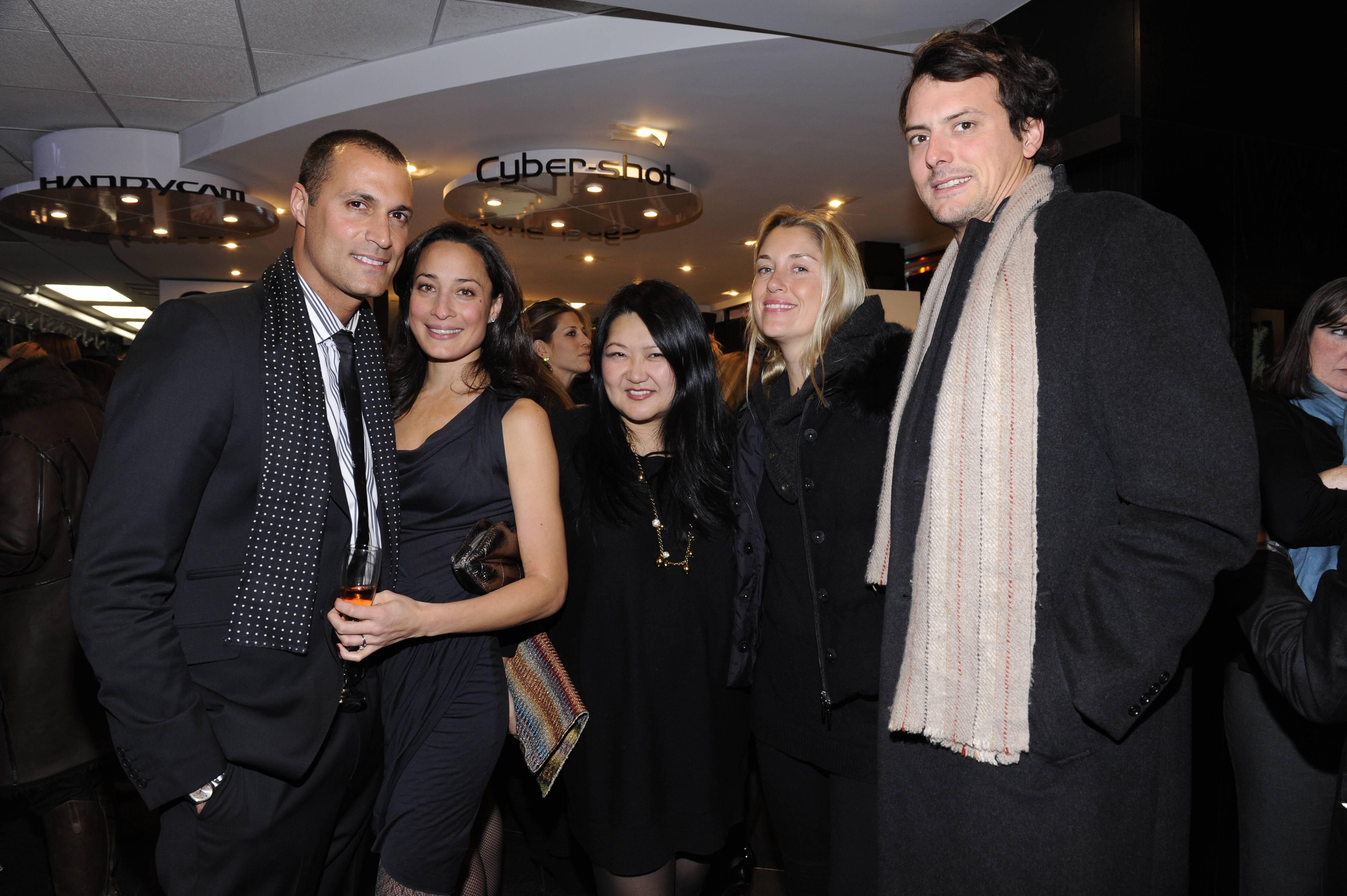 Nigel Barker, Cristina Chin, Susan Shin, Helena Khazanova, Friend