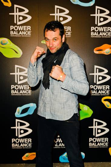 Power Balance NEON Party Matthew Rhys