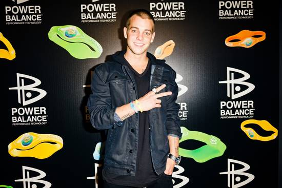 Power Balance NEON Party Ryan Sheckler