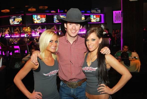 Snyder with PBR Girls