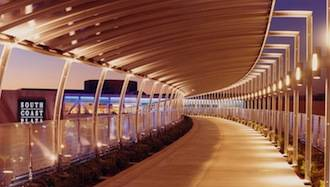 South_Coast_Plaza___Bridge___Walkway___Night
