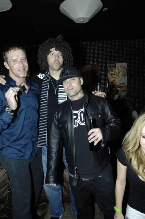 Stephan Bonnar, Skrape and Punkass at Blush