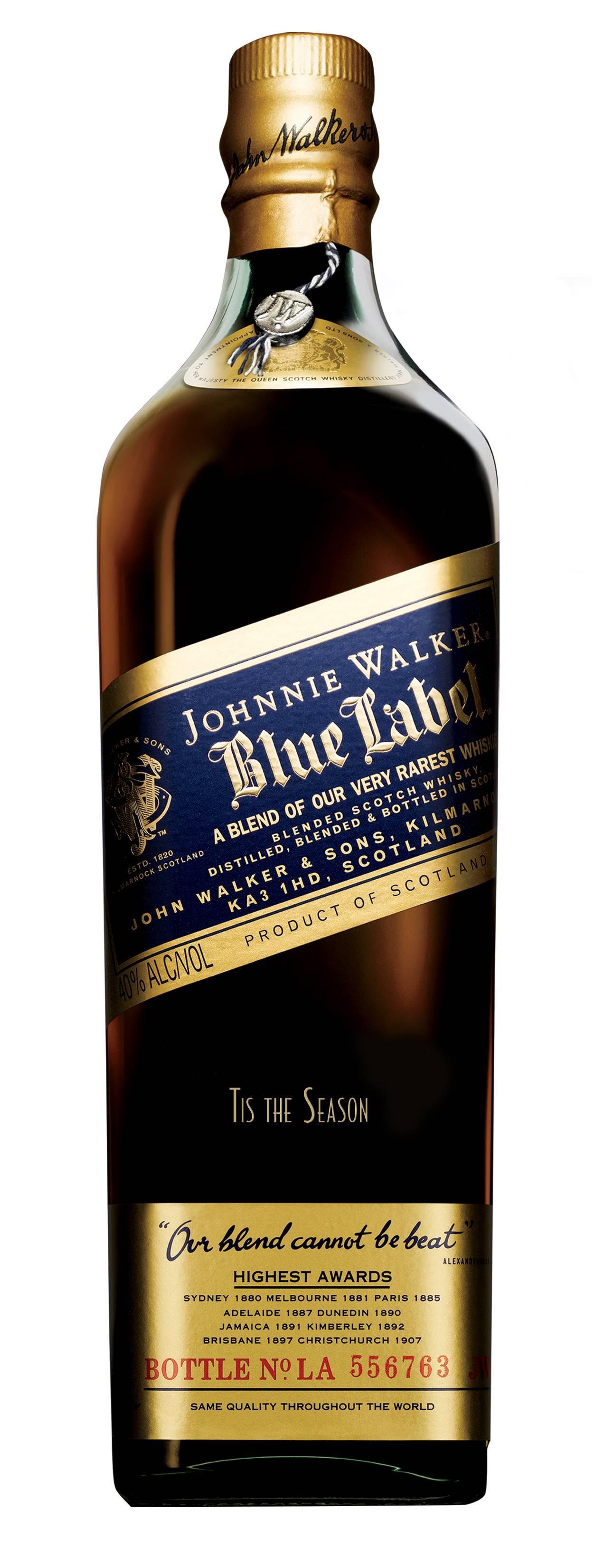 Haute Gift Guide An Engraved Bottle Of Johnnie Walker