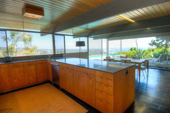 Troxell House Kitchen with View