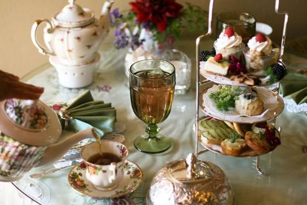 Mrs Burton Tea Room San Diego