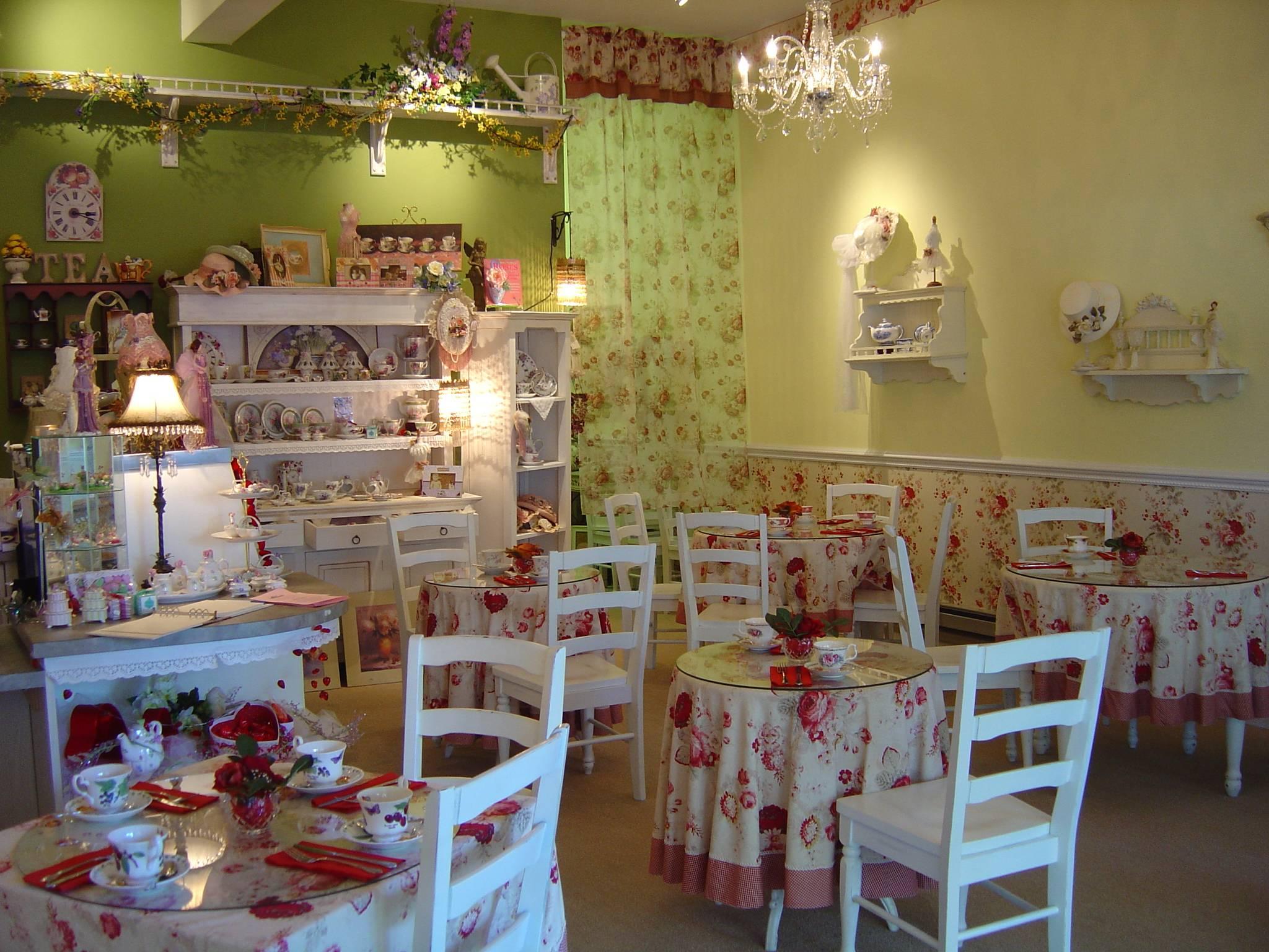 The Garden Tea Room Lincoln Menu