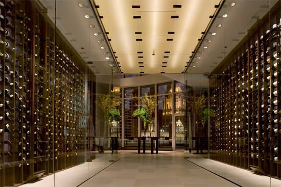 sixteen wine cellar