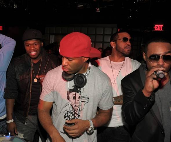 50 Cent--DJ--Lloyd Banks and Jeremih at Marquee Las Vegas