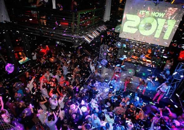 DJ Loczi's Electric Dream New Year's Eve Countdown, Las Vegas, Dec. 31, 2010