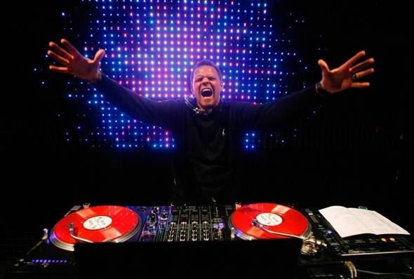 DJ Loczi's Electric Dream at Studio 54, Las Vegas, Dec. 31, 2010 (2)