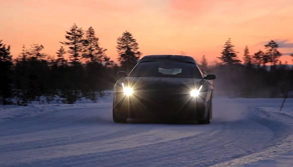 Ferrari FF_snow test