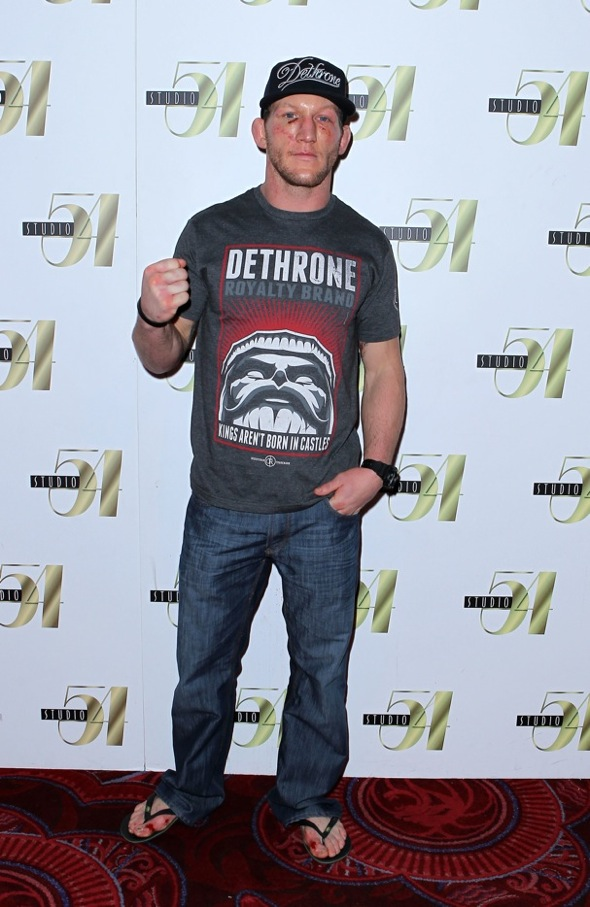 Gray Maynard after-fight party at Studio 54 Las Vegas, 1.1.11
