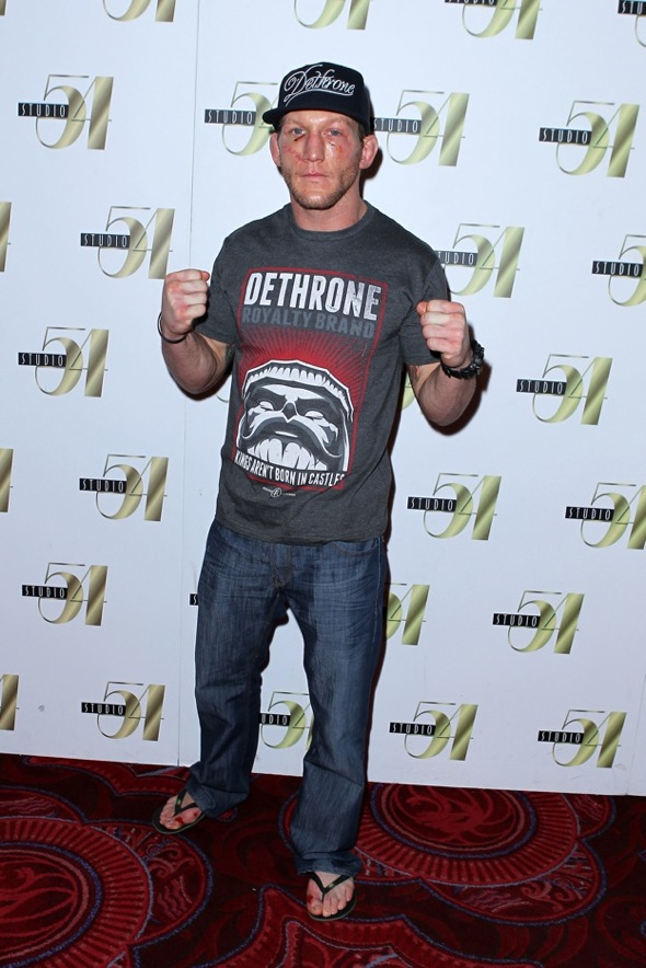 Gray Maynard after-fight party at Studio 54 Las Vegas 2, 1.1.11