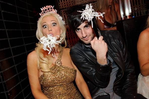 Holly Madison and boyfriend Jack Barakat excited about NYE at Lavo Las Vegas photo credit Al Powers