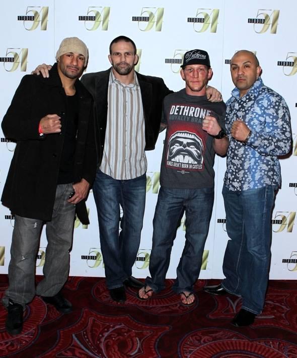 Jay Hieron, Sean Spangler, Gray Maynard, Gil Martinez at Studio 54 Las Vegas, 1.1.11