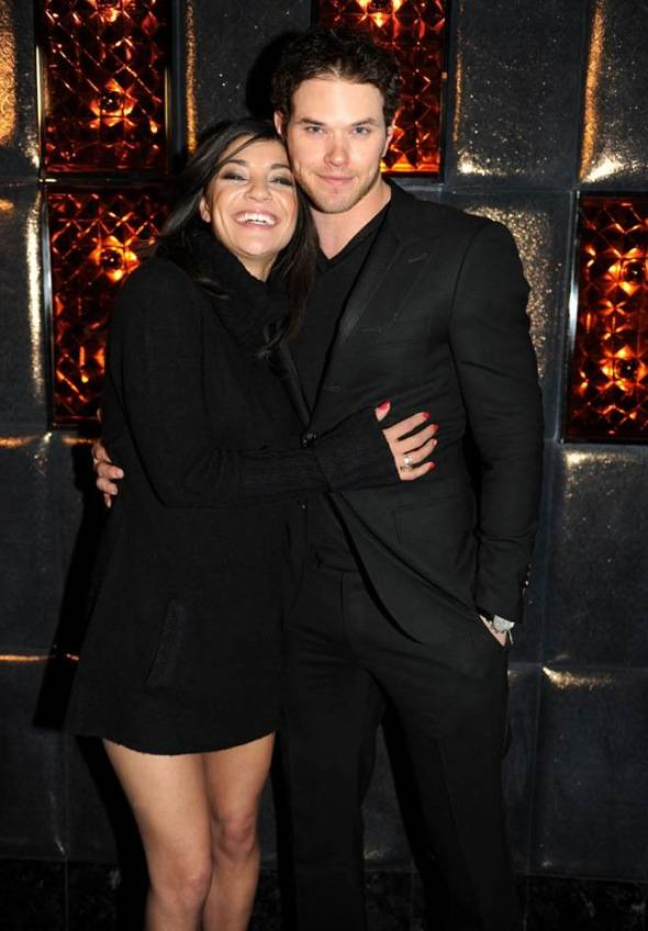 Jessica Szohr and Kellan Lutz Grand Opening of Marquee LV at The Cosmopolitan. Credit Seth BrowarnikWorldRedEye.com