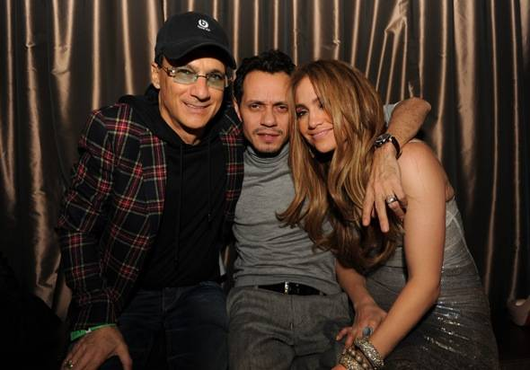 Jimmy Iovine, Marc Anthony, Jennifer Lopez