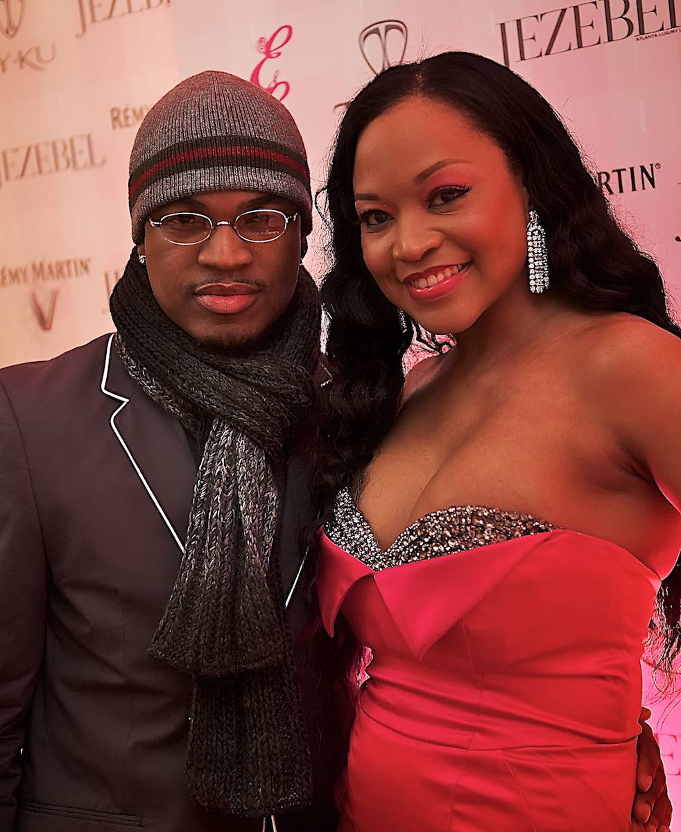 Ne-Yo and Monyetta Shaw (David Barrack Photography)