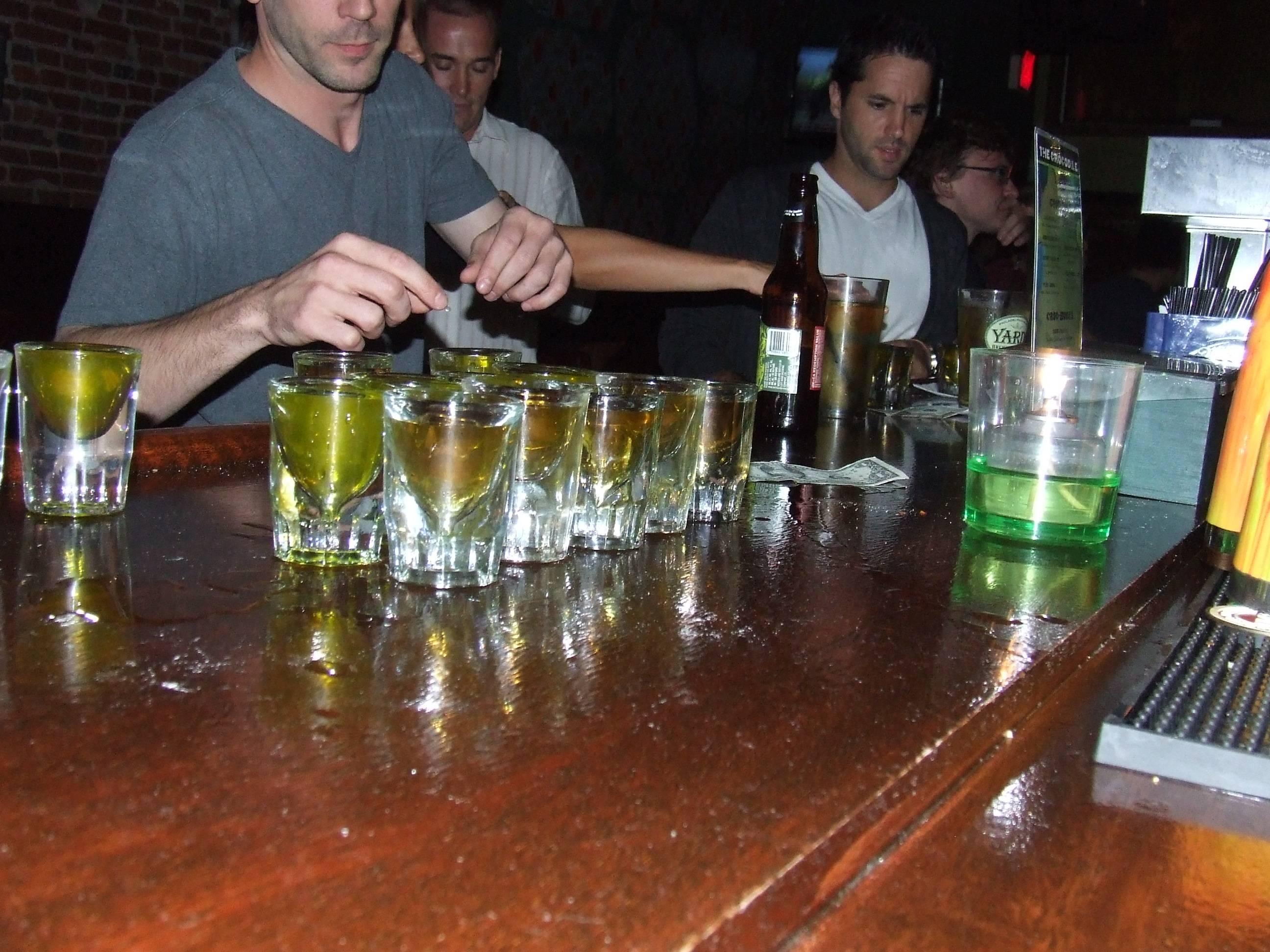 Pickle Back Shots