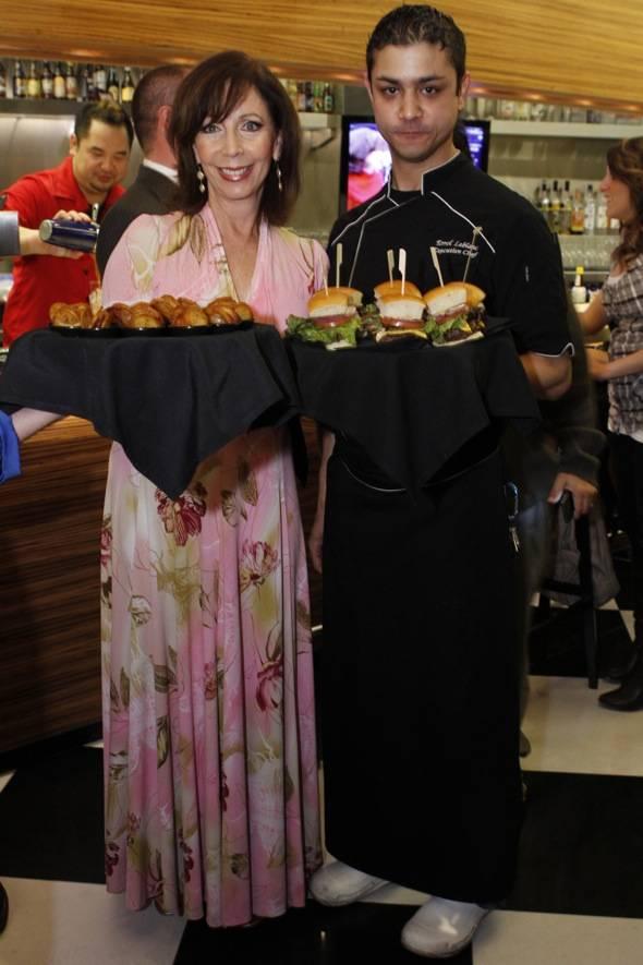 Rita and Executive Chef