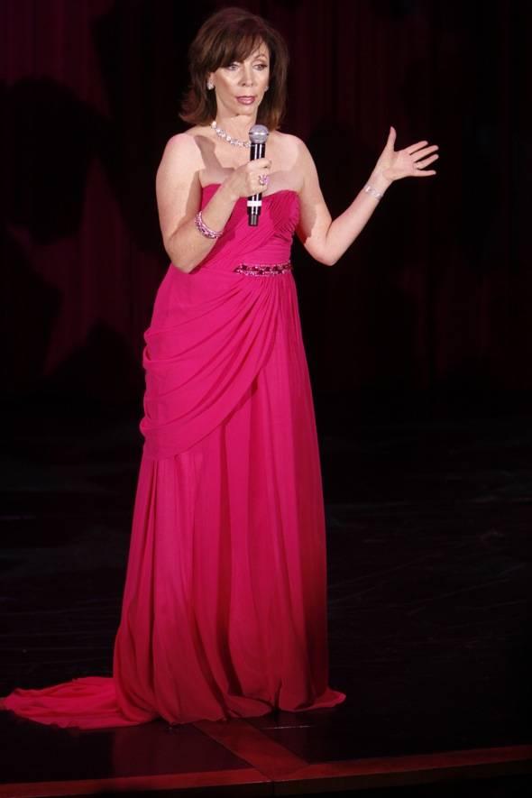Rita on stage