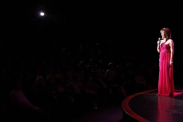 Rita performing